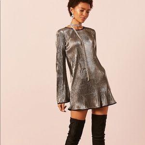 Dresses & Skirts - Metallic Mini Dress